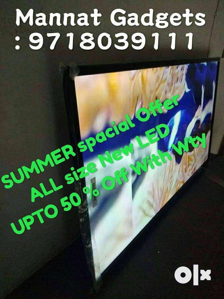 "New 32"" Full Hd New Version LED Tv With 12 M Warranty 0"