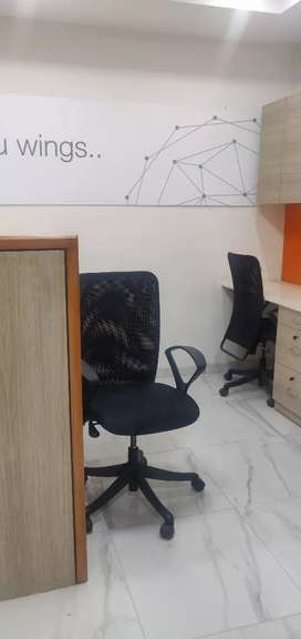 Fully furnished office space prime location