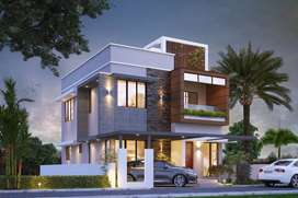 3 BHK VILLA AT 40 LAKHS, MANNUTHY