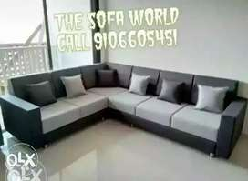 New round corner 6 seater sofa.set