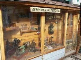 Jual dummy toko antik untuk photography prop