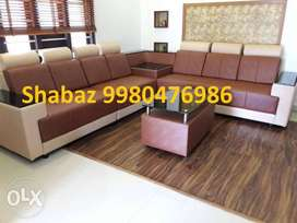 RP85 Corner sofa set with 3 years warranty acll us
