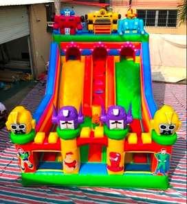 jual istana balon, bompes, rumah balon 4x6 robot