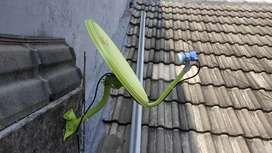 Antena Parabola Surabaya pengganti uhf gambar digital pasti Jernih