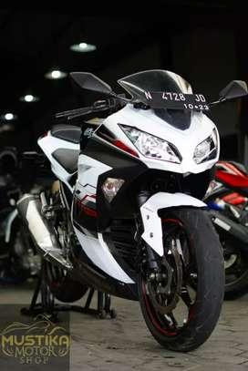 Ninja fi 250 SE Abs TH 2014 Plat N Asli Malang Wiliam Mustika