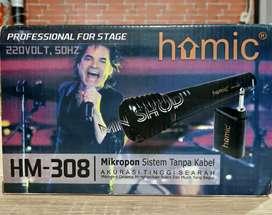 MN Microphone Homic HM-308 wireless