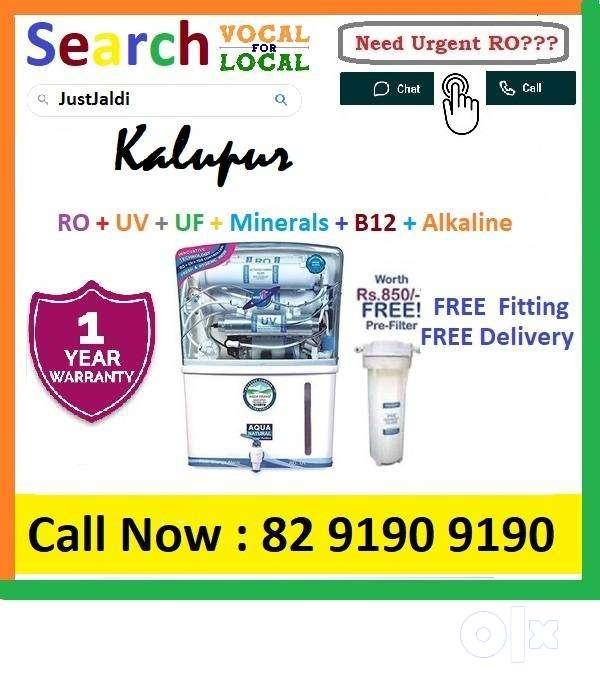 Kalupur1 AquaGrand RO Water Purifier Water Filter AC dth bed car AquaG