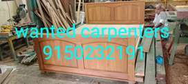 Wanted  carpenters