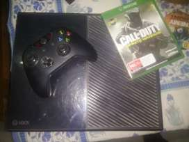 X BOX ONE + game (only one)  MESSAGE ME ONLY INTRESTED