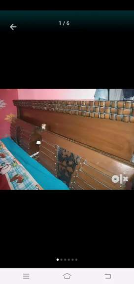 Palang double bed
