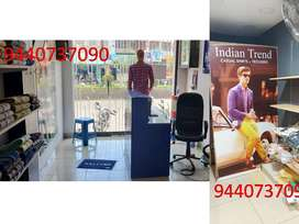 Men's Readymade showroom for sale