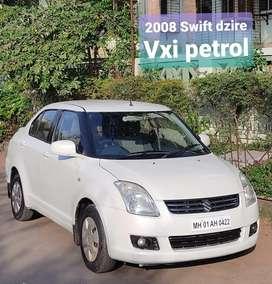 Maruti Suzuki Swift Dzire VXI, 2008, Petrol