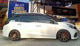 HSR VELG racing TIKALA R17x75 pcd 8x100-1143 bronz