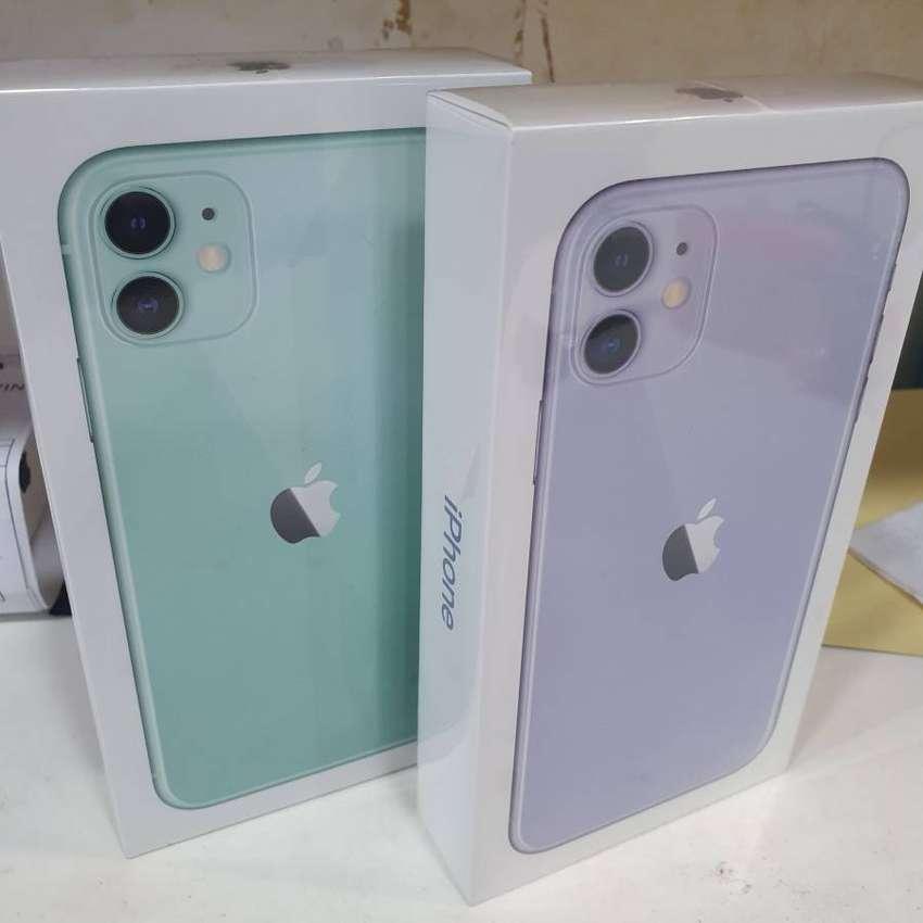(New IBOX)Apple Iphone 11 Purple 128GB Boleh Cash dan Cicilan Tanpa CC