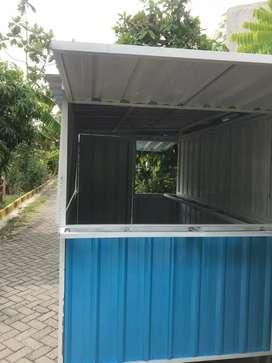 Booth Container tinggal pakai