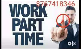 Part Time Jobs To all India,