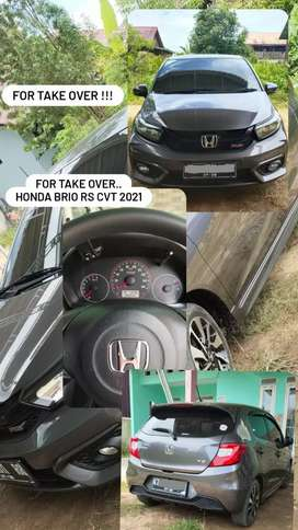 For Sale *OVER CREDIT* HONDA BRIO RS CVT 2021