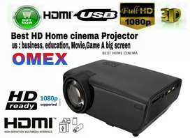 2200LM Usb Slide Mini Focus Ultra Short Throw Led Projector For home