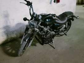 Black Royal Enfield 350CC