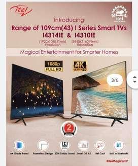 Itel 55 Inch HD Smart TV (I5514IE) 50% OFF ON MARKET PRICE