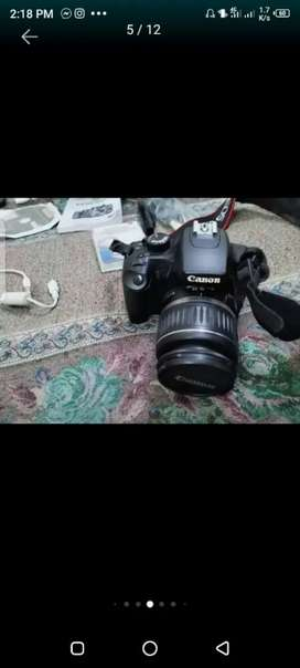 Cannon DSLR camera modal 450D totally set for sell