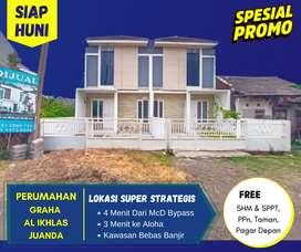 Jual Rumah Siap Huni Dekat Juanda Surabaya Selatan 1 Lantai