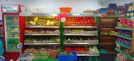 Supermarket at prime location @ Saligramam.