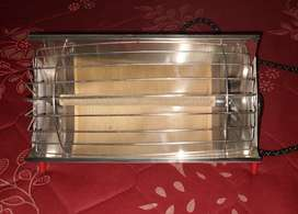 Heater with 2 tubes