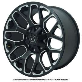 VELG AMW COUNTRY GLC R18x9.0 PCD 6x139,7 PAJERO HILUX LC FORTUNER