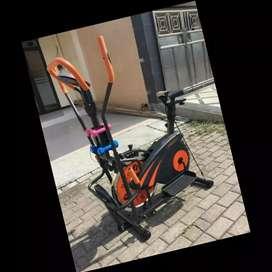 jual sepeda statis big orbitrek plat FC-843 alat fitnes salatiga