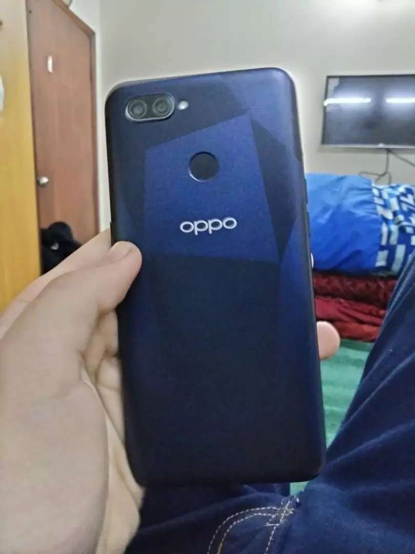 Oppo a12 fully lush with box 0