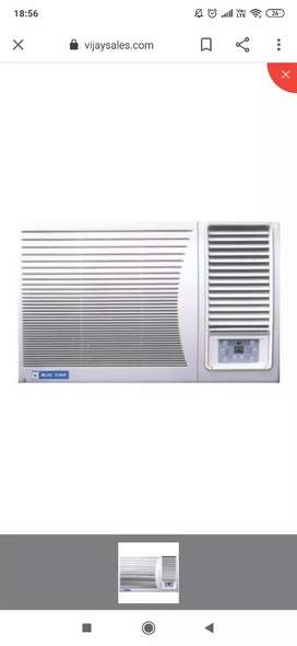 Blue star window AC in a good condition