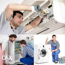 Washingmachine, fridge and Ac repair and service in your area