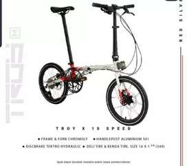 Element troy X 10 speed rem hidrolik