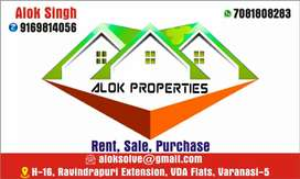 (Alok properties)3BHk flats near Lanka Truma center