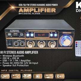 Ampli Kiseki Digital Player CK-A07 MP3 Player USB SD MMC FM Bluetooth