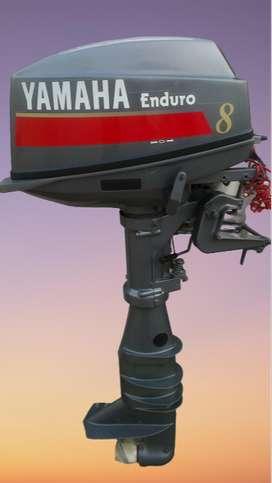 Mesin Tempel Yamaha E8CMHL / E8DMHL 2 Stroke Outboard Motor
