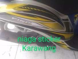 Striping Variasi Yamaha  Fino