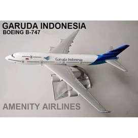 Diecast Pesawat Garuda boeing 747