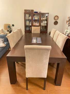 Dining Table with 8 chair