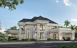 Jasa Arsitek Jakarta Desain Rumah 815m2 - Emporio Architect