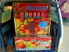 My car sell and soda machine