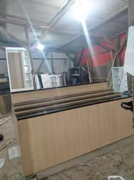 Meja kasir zumbo P240 L110 bahan multypleck