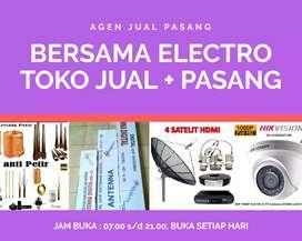 Jasa pemasangan sinyal antena tv digital