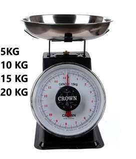 Timbangan Duduk Manual Jarum Crown Murah Meriah 5,10,15,20kg