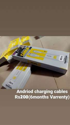 Charging cables and charger,with varrenty