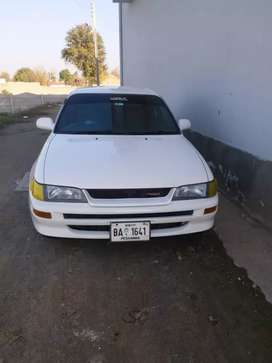 toyota Corolla japan 95 regestered 2007