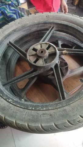 Alloy wheel for bike
