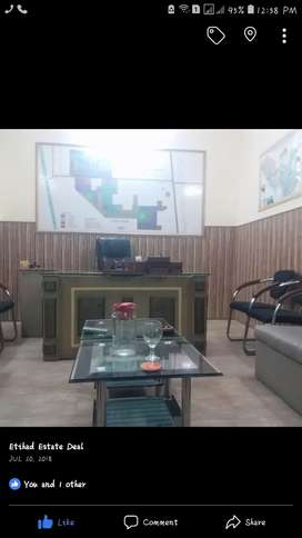Ground portion for rent Manzoor Colony 47pull