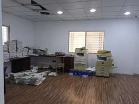 Gulshan Iqbal block 13 A commercial for Rent portion for Rent